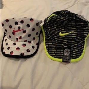 Infant Nike hats never used